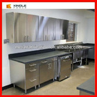 most popular stainless steel kitchen design cabinet