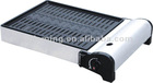aliminum-alloy portable camping butane gas BBQ grill with CE approved