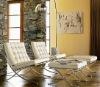 Barcelona chair+Ottoman(WK-81#)