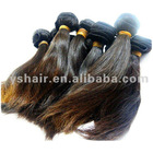 straigth virgin brazilian human hair weaving