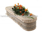 wonderful seagrass coffin