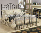Modern Metal Frame Double Bed (G-B002)