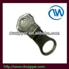 No.5 metal slider,auto lock,thumb puller