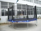 trampoline with enclosure T-014