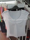 for girl breathable white T-shirt