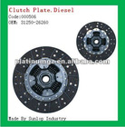 toyota hiace spare parts Hiace Clutch plate diesel #000506 clutch disc for hiace 31250-26260
