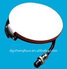Plate silicon rubber heater