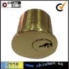 Brass cylinder push lock