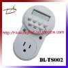 Programmable LCD weekly digital countdown timer switch