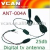 ANT-004A Auto mobile TV antenna indoor DVB-T aerial 25DB booster