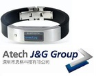 NEW Vibrating Bluetooth bracelet with caller ID display