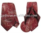 2011 NEW FASHION ITALY RED SILK TIE