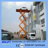 scissor car lifter with 2500kgs
