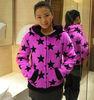 100% polyester coral fleece pajamas for girl