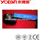 stainless steel two-piece threaded ball valve