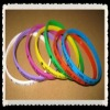 fashion thin colorful silicone wristband