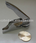 Handle grips/metal stamp/embosser/embossing seal