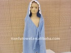 Blue baby bathrobe & baby cloak