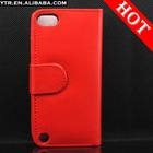 Wallet Flip Leather Case Cover with inner ID Card Slots for apple iPod Touch 5 5th touch5