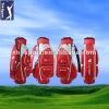 Ladies Red Golf Cart Bag