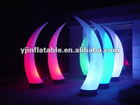 color changing lighting inflatable for nightclub decoration