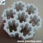 Ceramic combination ring for oil refining gas chemical wash off