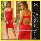 Sexy Spandex Ruffled Dance Dress Patterns