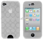 CLEAR COMPLETE GEL CASE COVER For IPhone 4G