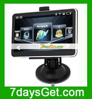 5 Inch ISDB-T Car GPS Navigation AV-in FM Bluetooth WinCE 5.0 Free IGO Map Black + Free shipping