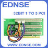 EDNSE riser card 32bit 1 to 3 PCI