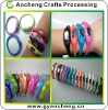 Silicone rubber bracelet ion sport watches