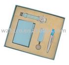 Watch keychain ball pen bookmark gift set SS-8745
