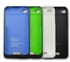 For iPhone 4S/G external battery 1900 mA case cover