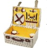 new design Wicker Picnic Basket for 2 persons use