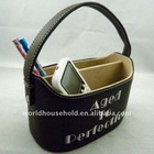 Newest style leather pretty cute vintage storage boxes