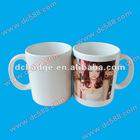 White sublimation mug for heat press mug