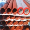 ST52 DN125 Concrete Pump Pipe With 148mm Metric Flange