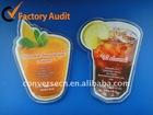 Juice Acrylic Bottle Shape Plastic Fridge Magnets