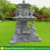 Outdoor fountain with lovely carving
