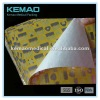 aluminum foil coated paper with color printing