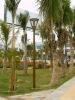 Fiberglass (FRP/GRP) lighting pole