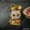DMC rhinestone case for iPhone4 4S SH-MPC0050 golden base