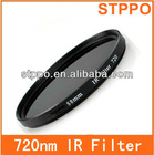 Digital Camera IR filter 37mm 720nm