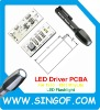 3.65V 150mA 0.5W DC To DC LED Flashlight Constant Current Driver