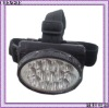 13leds plastic rechargeable led head light