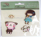 2012 loli decorative wooden craft for scrapbook