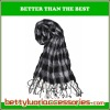 100% Viscose Checked Imitation Cashmere Men Scarf