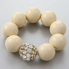 Wholesale charm bracelets/round colorful bead bracelets-B22036-1