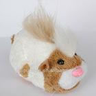 Battery operation handheld plush hamster toys