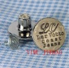 Coconut shell surface copper buttom jeans button rivet jeans buttons with words,1.7cm diameter